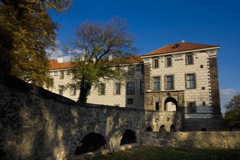 Castello Nelahozeves fotografia stock libera da diritti