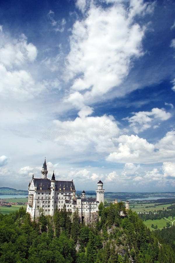 Castello Neuschwanstein fotografia stock