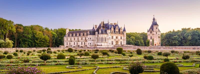 Castello o castello de Chenonceau, Francia immagini stock libere da diritti