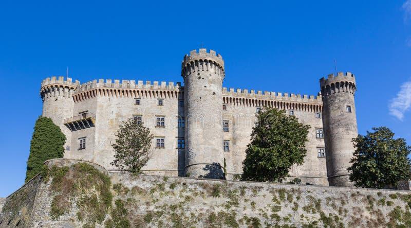 Castello Odescalchi, lago Bracciano, Italia immagine stock