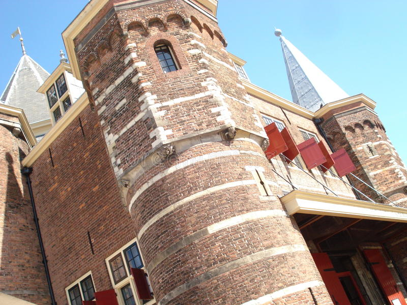 Castello olandese a Amsterdam fotografie stock