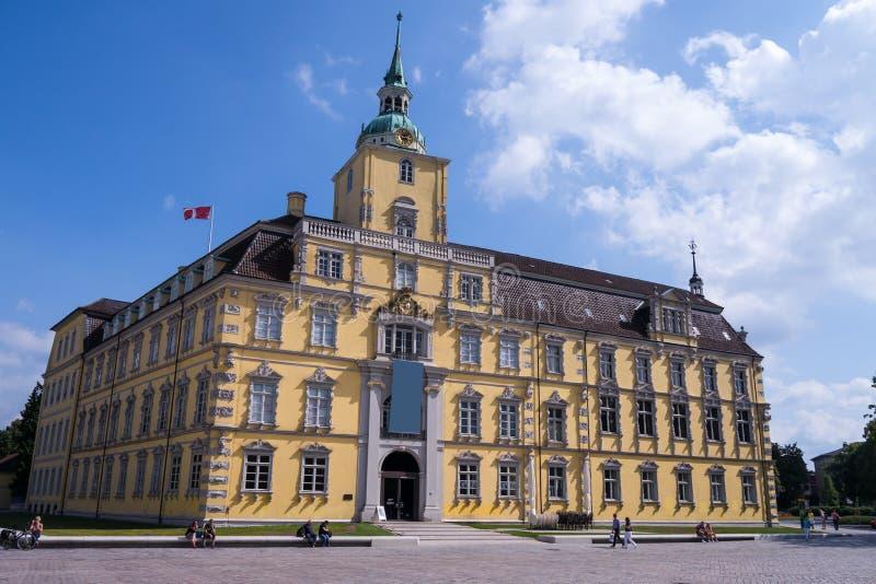 Castello a Oldemburgo immagini stock libere da diritti