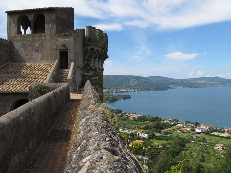 Castello Orsini-Odescalchi in Bracciano royalty free stock photography
