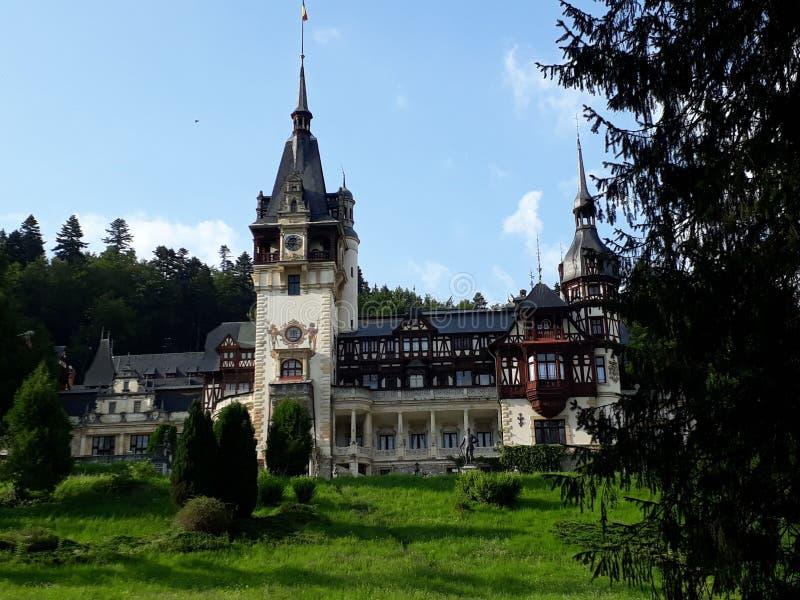 Castello Peles, Sinaia, Romania fotografia stock