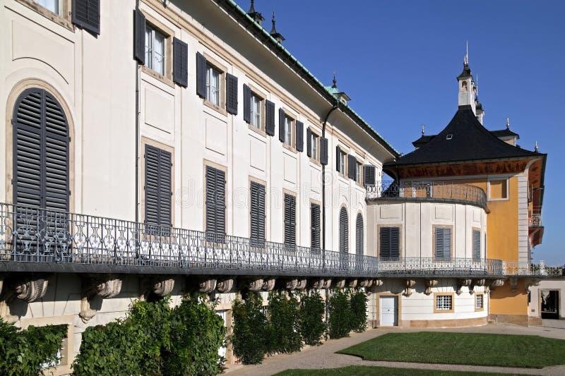 Castello Pillnitz immagine stock libera da diritti