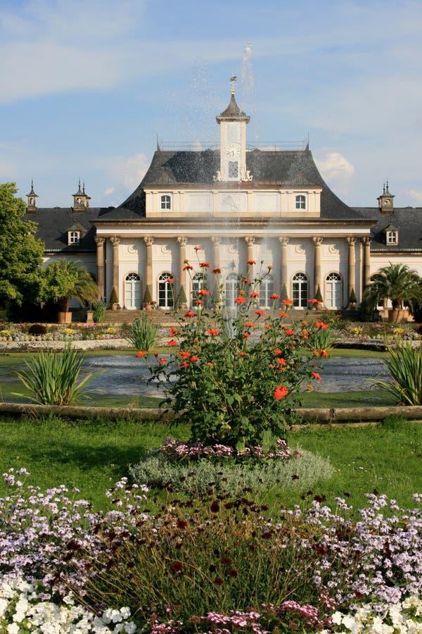 Castello in Pillnitz fotografia stock libera da diritti