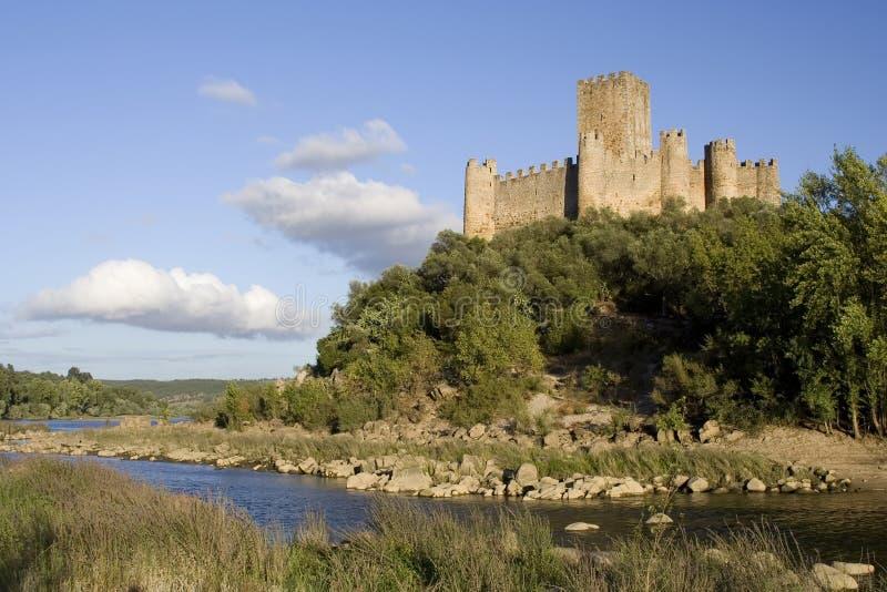 Castello portoghese medioevale immagini stock libere da diritti
