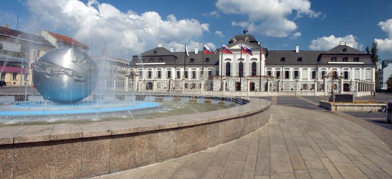Castello presidenziale immagine stock libera da diritti