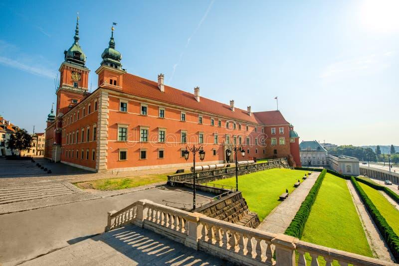 Castello reale di Varsavia fotografia stock