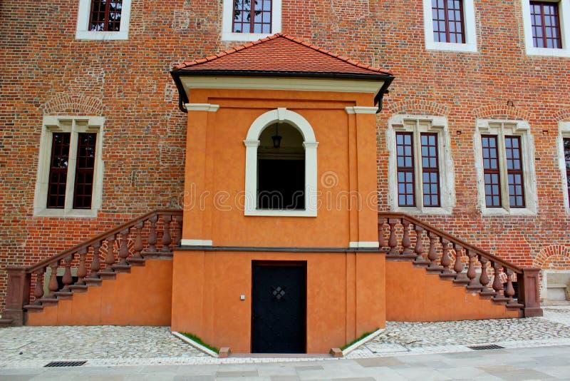 Castello reale di Wawel a Cracovia, Polonia immagini stock libere da diritti