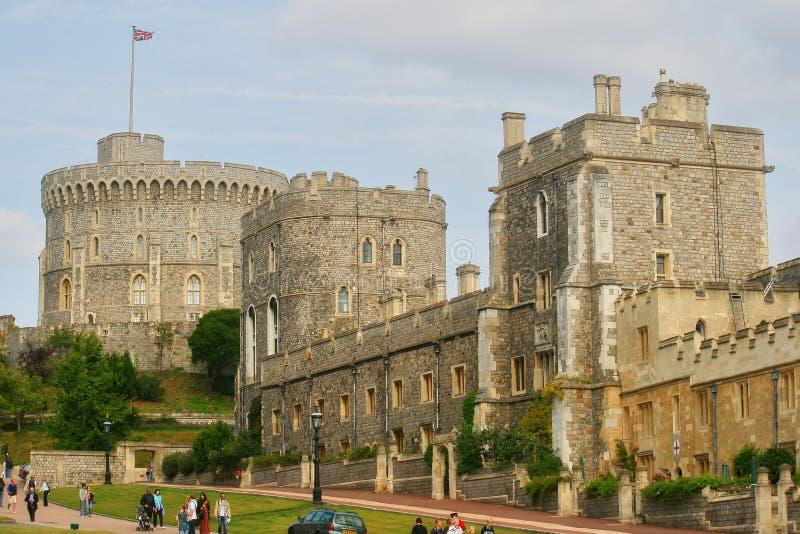 Castello reale di Windsor in Inghilterra, Gran-Bretagna immagine stock libera da diritti