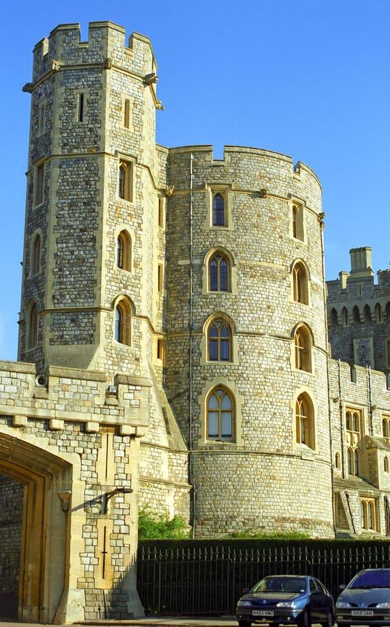 Castello reale, Windsor, Inghilterra fotografia stock libera da diritti