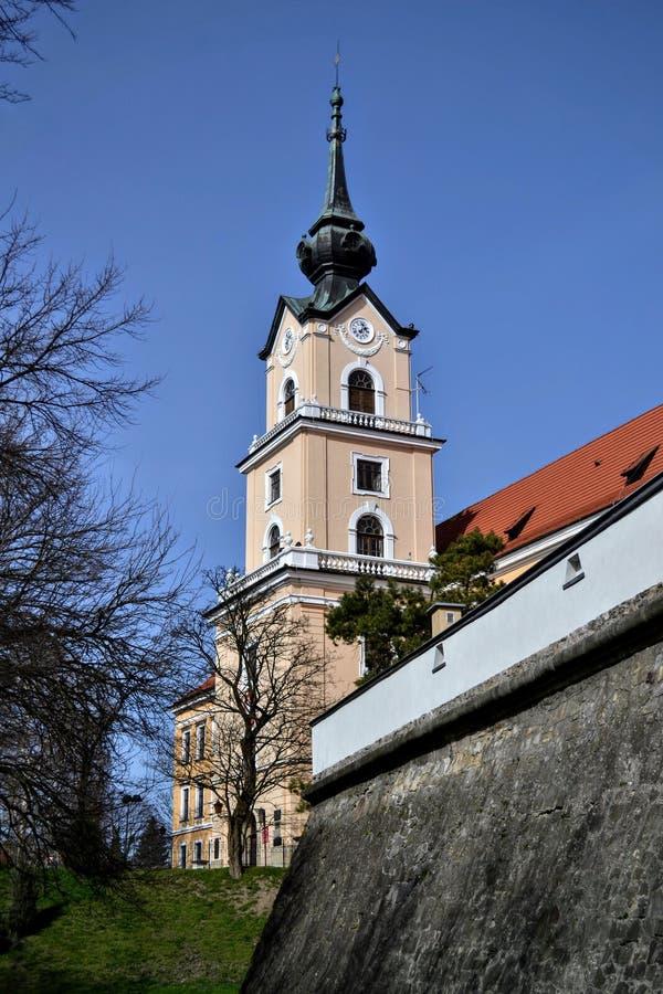 Castello in Rzeszow Polonia fotografie stock