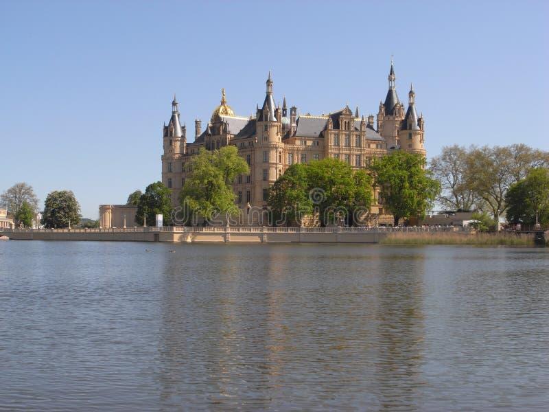 Castello Schwerin immagini stock libere da diritti
