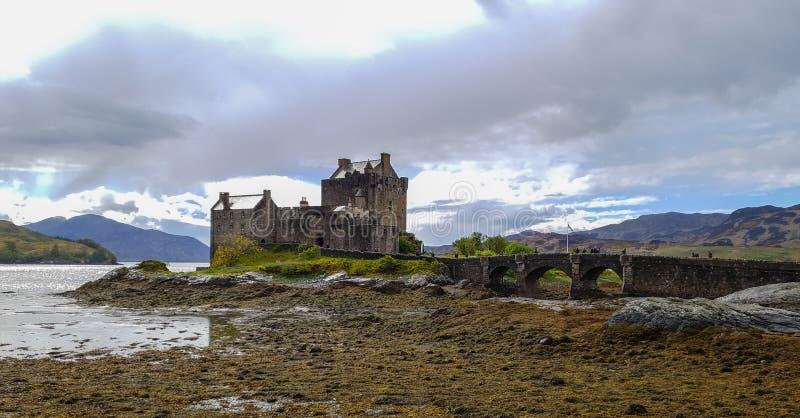 Castello Scozia di Eilean Donan immagine stock