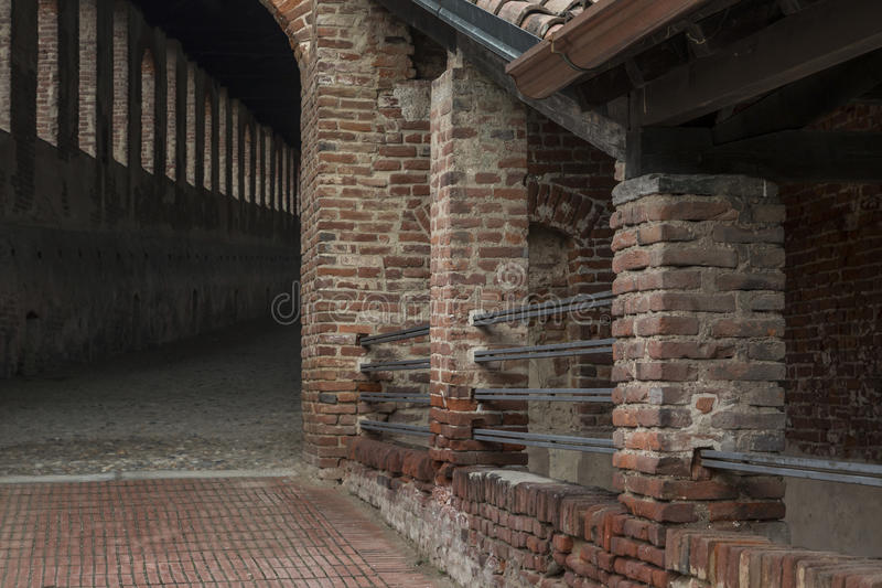 Castello Sforcesco royalty free stock photography