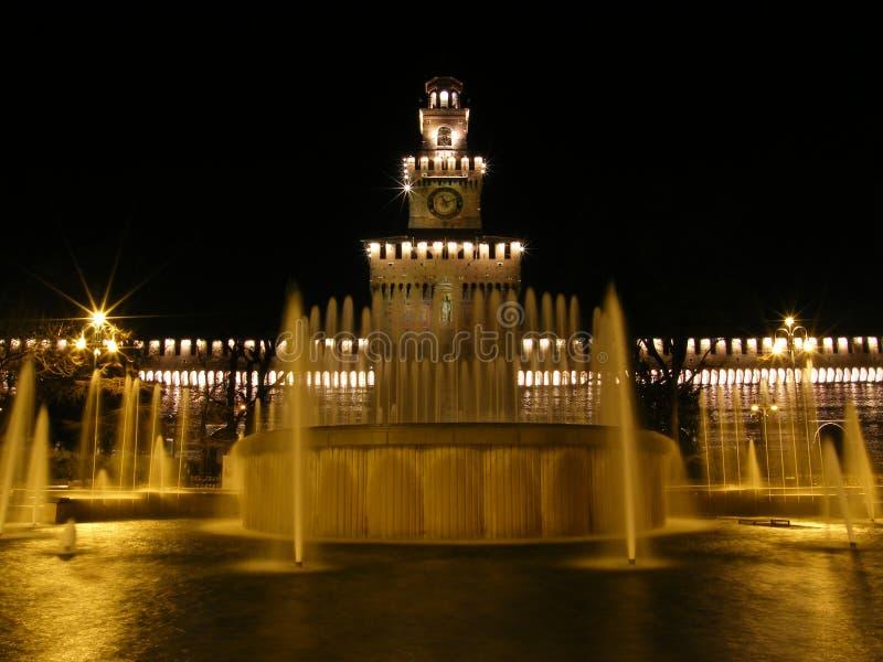 Castello Sforzesco - Milano royalty free stock photography