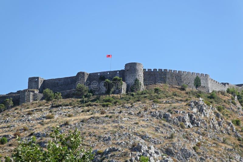 Castello Shkoder di Rozafa immagini stock libere da diritti