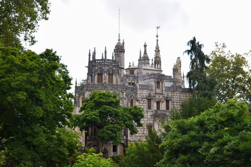 Castello in Sintra Portogallo fotografie stock