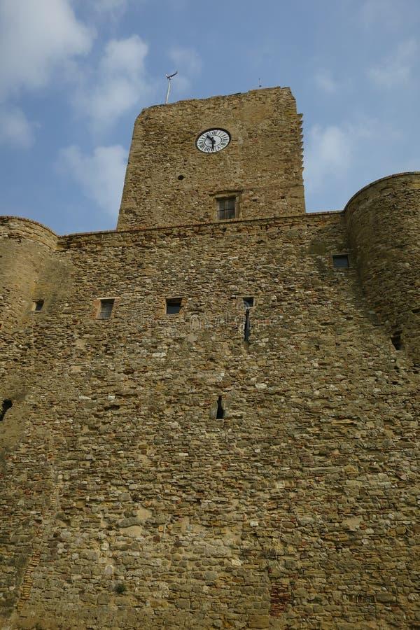 Castello Svevo Termoli Campobasso Molise Italien lizenzfreie stockfotografie