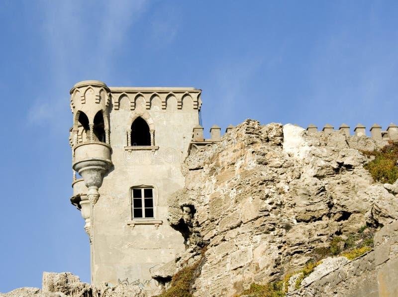 Castello Tarifa Spagna fotografia stock