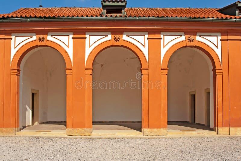 Castello Troja immagini stock