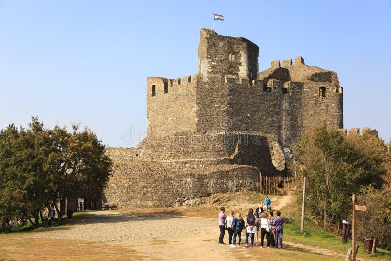 Castello Ungheria di Holloko fotografie stock libere da diritti