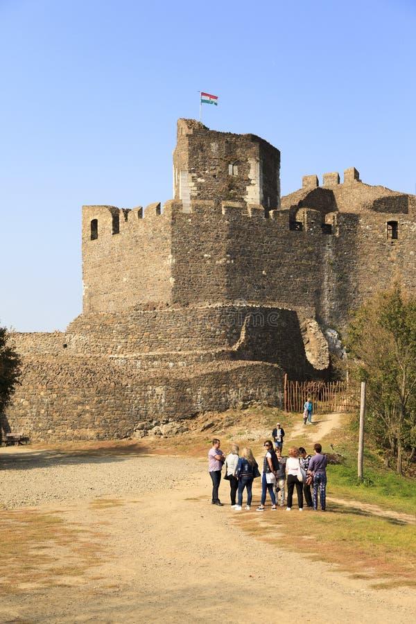 Castello Ungheria di Holloko immagini stock
