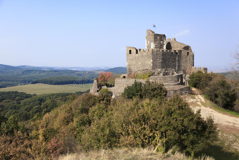 Castello Ungheria di Holloko immagine stock