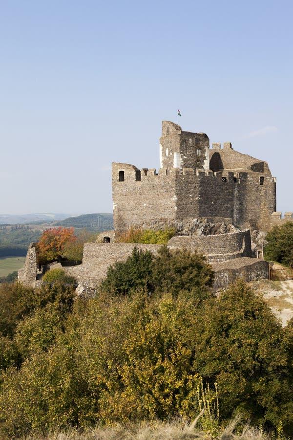 Castello Ungheria di Holloko fotografia stock libera da diritti