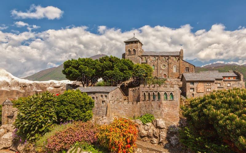 Castello Valere immagini stock