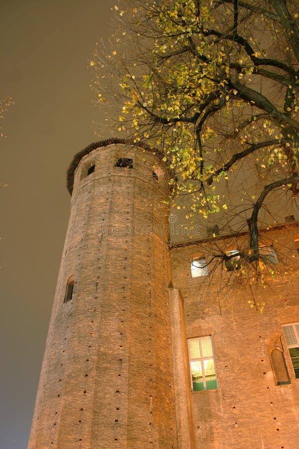 Castello vecchio a Torino immagine stock
