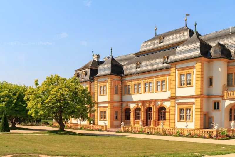 Castello Veitshoechheim immagine stock