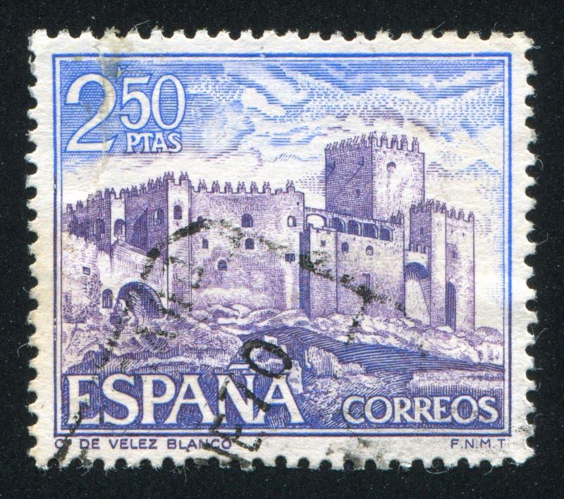 Castello Velez Blanco fotografia stock libera da diritti