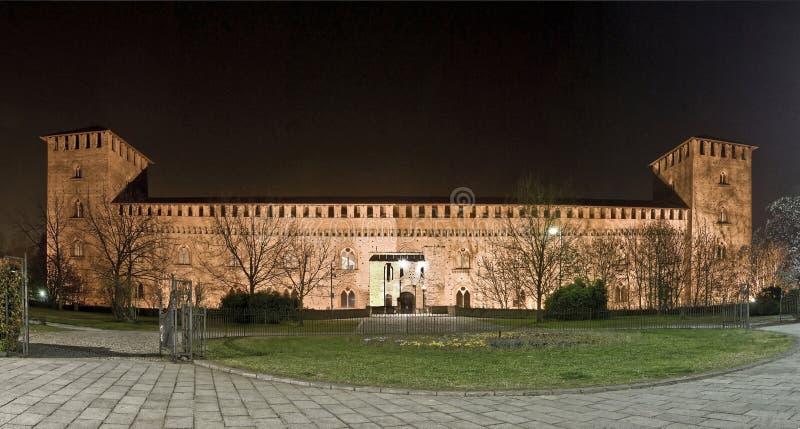 Castello Visconteo стоковое изображение rf