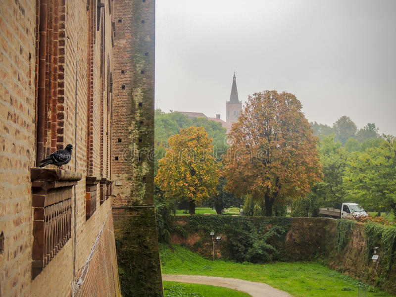 Castello Visconteo royalty-vrije stock fotografie