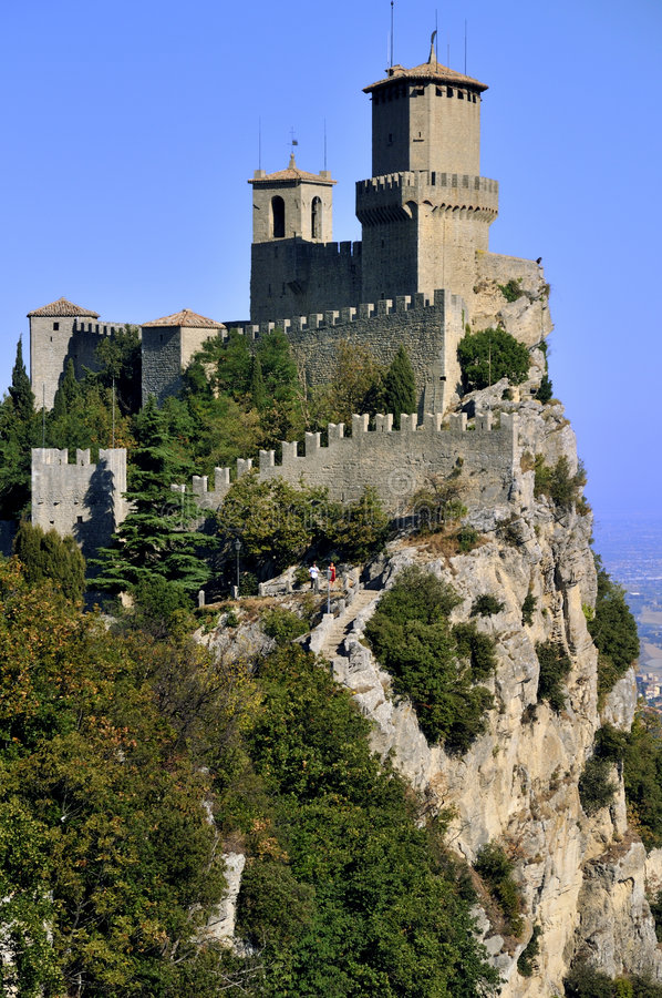 castellodellaguaita royaltyfria foton