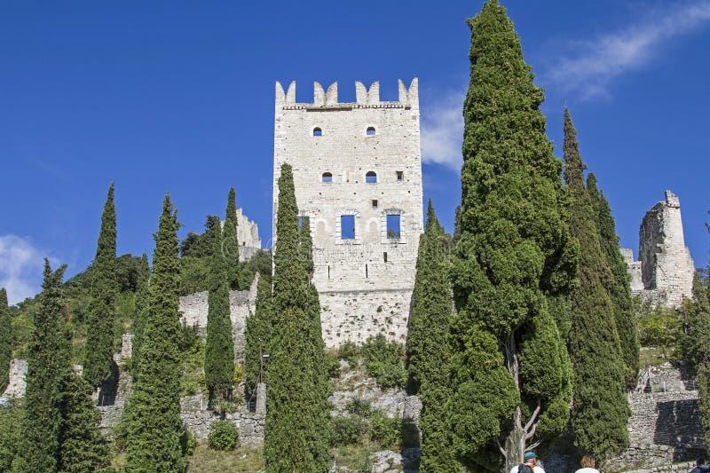 Castellodi Arco in Trentino stock foto