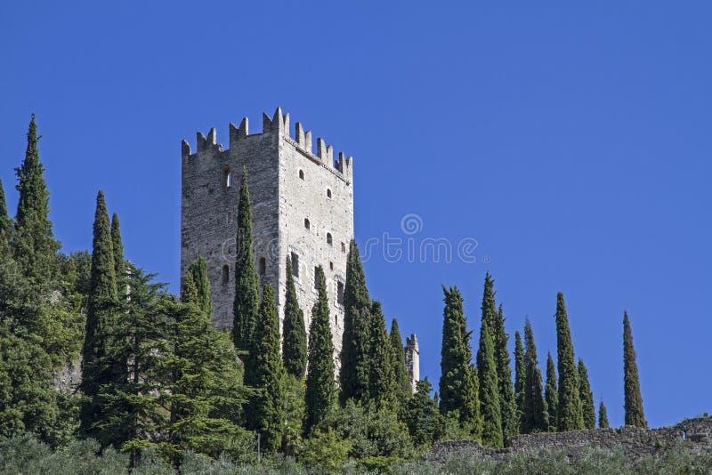 Castellodi Arco in Trentino royalty-vrije stock foto's