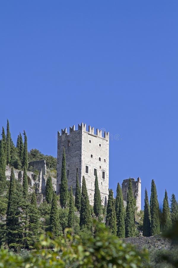 Castellodi Arco in Trentino stock fotografie