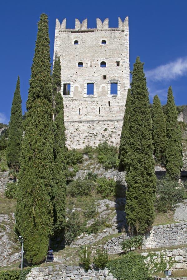 Castellodi Arco in Trentino royalty-vrije stock fotografie