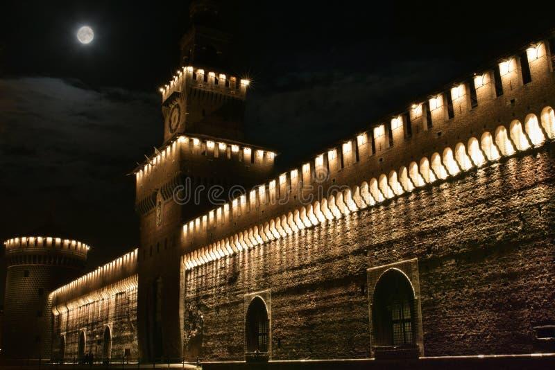 Download Castellomilan s sforzesco arkivfoto. Bild av porthus, åldrades - 519150