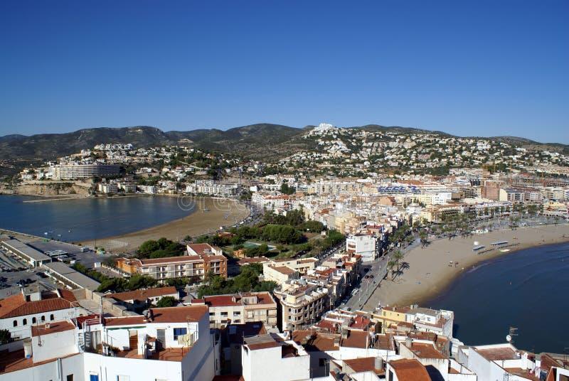 castellon peniscola Spain obraz royalty free