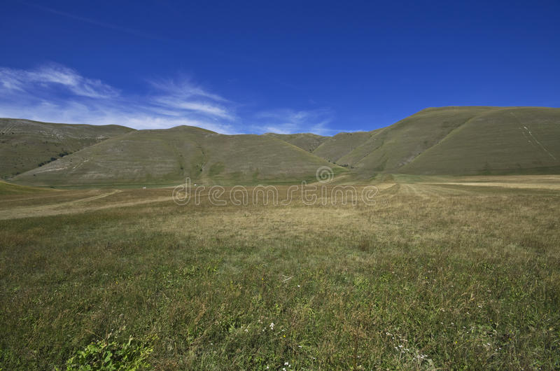 Download Castelluccio di Norcia stock image. Image of legume, panorama - 20968993