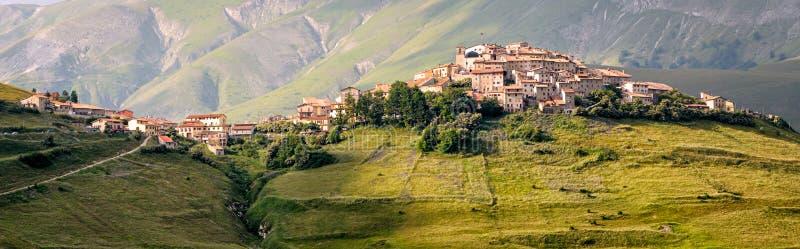 Castelluccio di Norcia (Umbria Italy) fotos de archivo libres de regalías