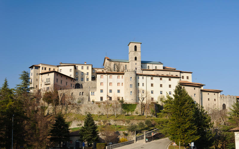 Castelmonte Sanctuary, Cividale Del Friuli - Italy Royalty Free Stock Image