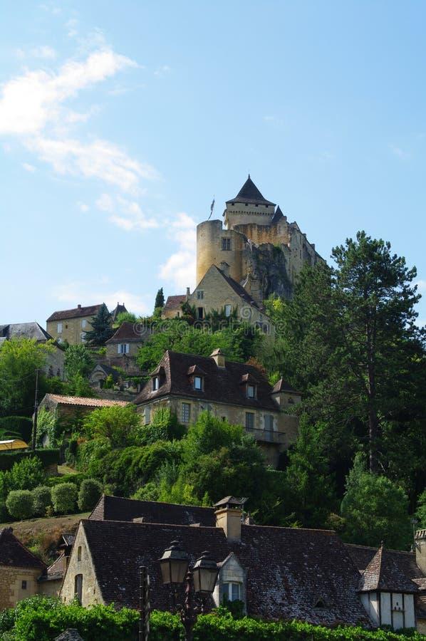 Castelnau Castle In Dordogne France Stock Photo