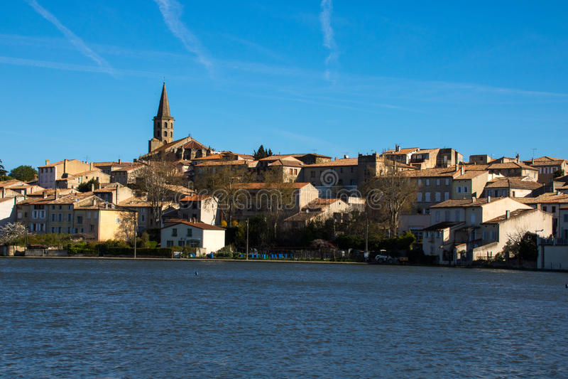 Castelnaudary, Francia imagen de archivo