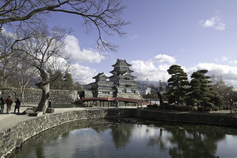 Castelo -2 de Matsumoto foto de stock royalty free