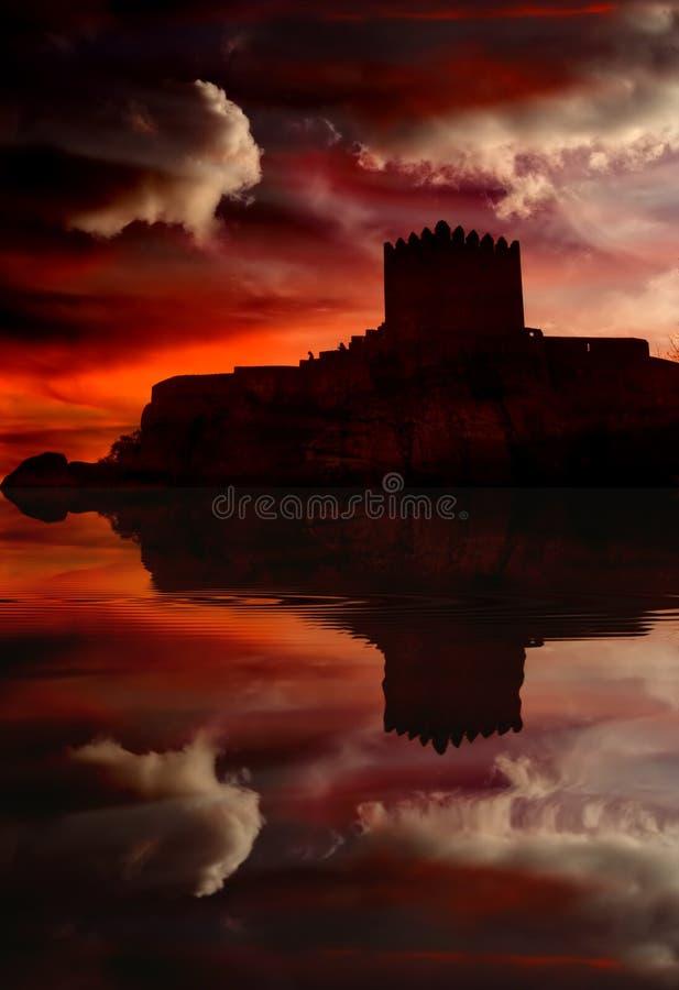 Castelo foto de stock royalty free